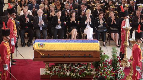 venezuelans and world leaders bid farewell to hugo chavez
