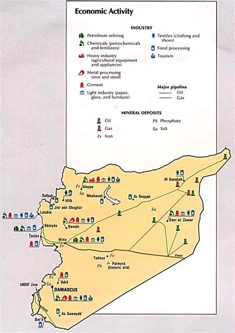 middle east map activity nationmaster maps of syria 19 in total
