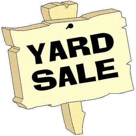 Up After Garage Sale by Townwide Yard Sale Set For Sept 20 Bank Green