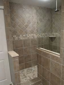 bathroom the required size of doorless walk in shower mid sized master bath design ideas pictures remodel