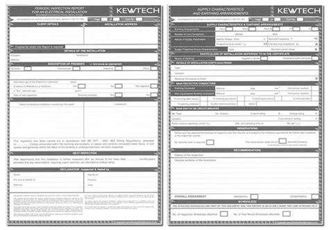 electrical inspection report template archives paulpriority