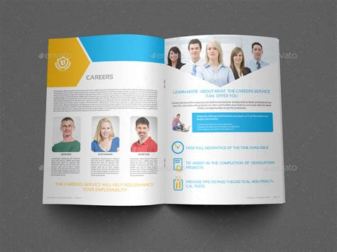 university college brochure bundle by owpictures