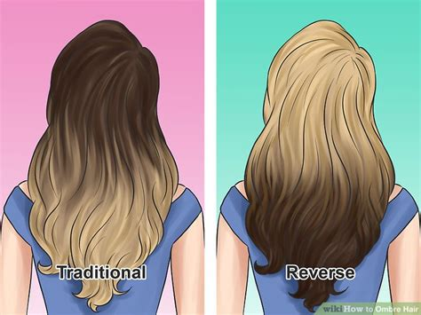 how to section hair for ombre how to ombre hair with pictures wikihow
