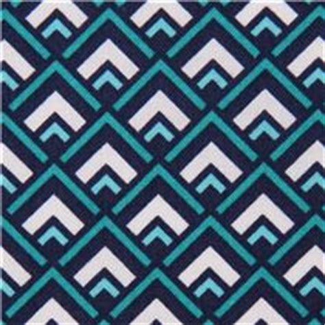 deco geo teal michael miller triangle fabric geo print