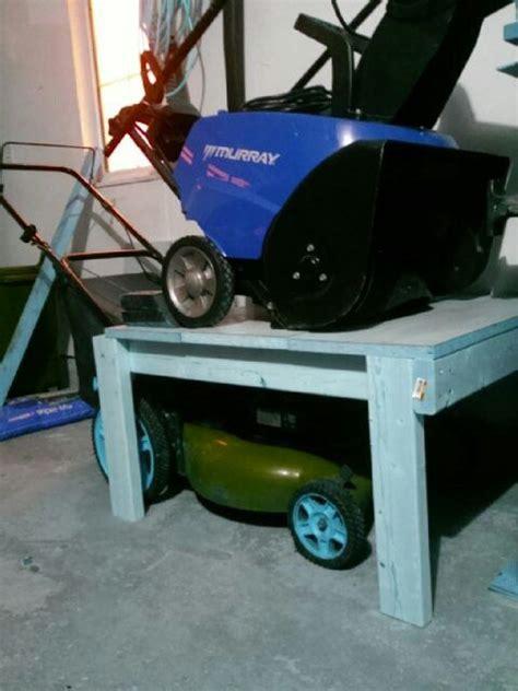 Push Mower Garage Storage Ideas 25 Best Ideas About Storage Shed Organization On