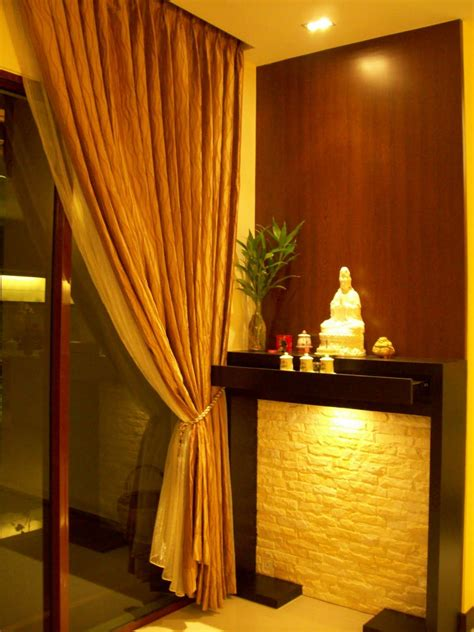 image result  modern chinese altar design living room