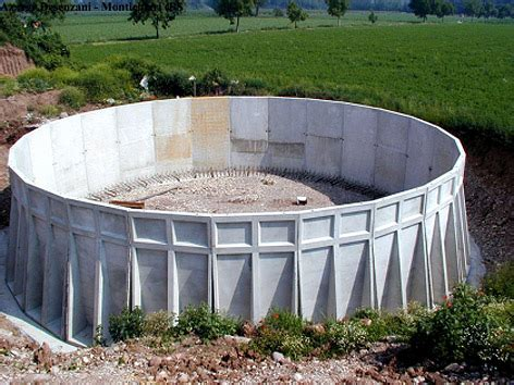 vasche prefabbricate in cemento vasche prefabbricate cemento per stoccaggio liquami lunga