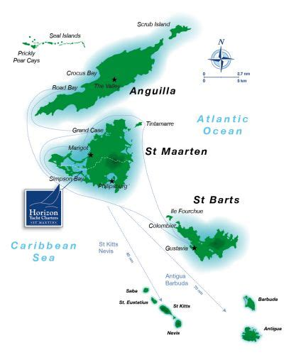 map of st and surrounding islands st maarten anguilla st barth keres 233 s