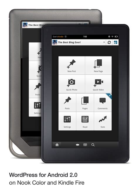is kindle an android apps for android now available for nook color tablet kindle