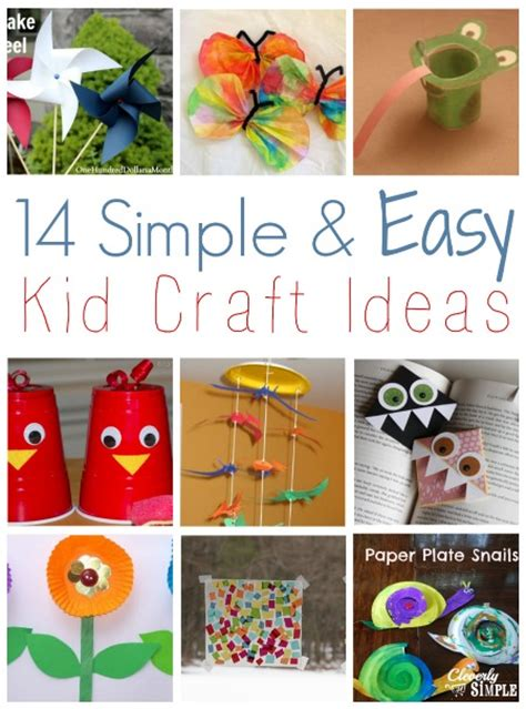 easy kid craft ideas 14 simple and easy kid craft ideas simple recipes diy