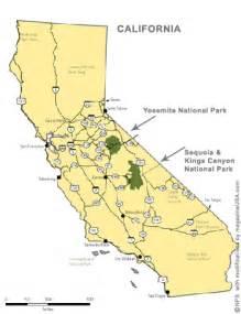 map of california yosemite travel explore usa yosemite np data facts