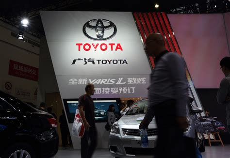 Is Toyota From Japan Or China Toyota Sales Show China Row Eased The Japan Times