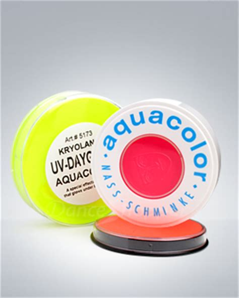 kryolan uv dayglow aquacolor permanent cosmetics