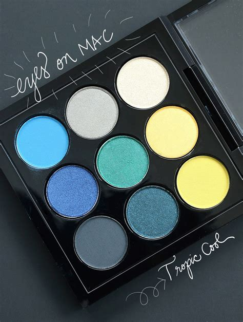 Eyeshadow X 9 Times Nine mac eye shadow x 9 in tropic cool times nine makeup and