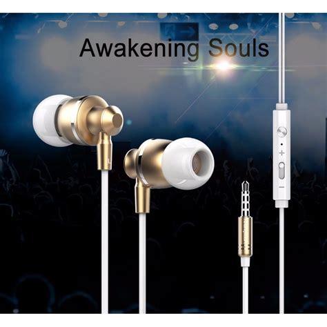 Langsdom Stereo Bass Earphone Dengan Mic Jv23 Berkualitas langsdom metal dynamic bass earphone dengan mic m300 black jakartanotebook