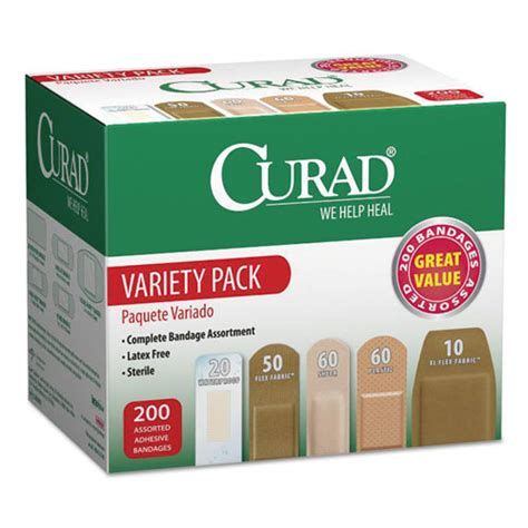 miicur0800rb curad variety pack assorted bandages zuma