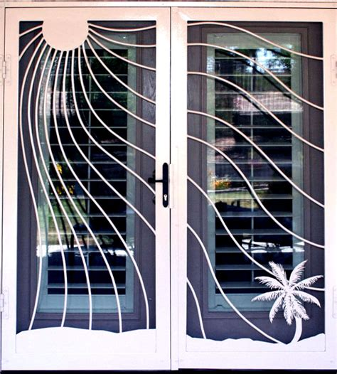 Patio Security Doors by Patio Door Desain Rumah Minimalis