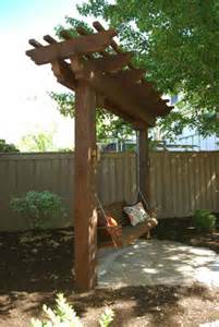 garden arbor swing 10 diy garden swings that unite beauty and function diy