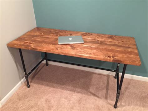 Diy Wooden Desk Diy How To Build A Desk