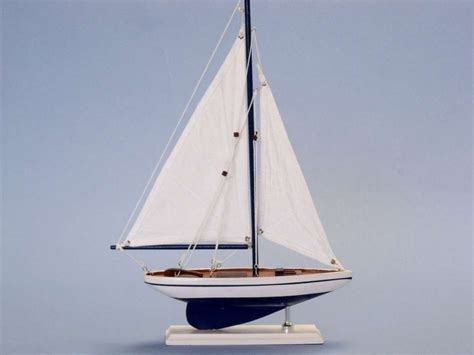 toy boat decoration buy wooden blue pacific sailer model sailboat decoration