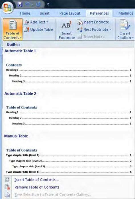 Cornell Mba Table Of Contents Essay Sle by How To Create Professional Reports Docs On Word