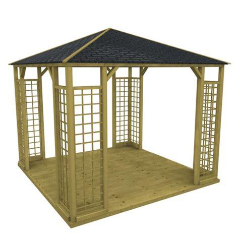 pavillon billig kaufen pin pavillon mit holz dacheindeckung jagram at billig 3x4