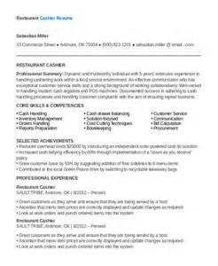 restaurant resume 10 free word pdf documents