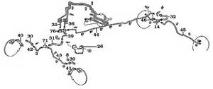 Toyota Land Cruiser Brake System Diagram Page 086 Land Cruiser Brake Lines Hoses 8 80 2006 60 62