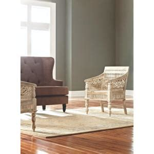 haram furniture hand carved maharaja chair by home home decorators collection maharaja sandblasted white wood