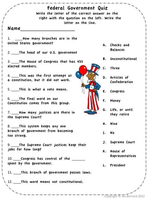 section quiz 3 2 three branches of government who is the government fairy and what is she doing here