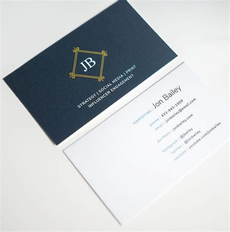 magazine business card template 5 free modern business card templates why business cards
