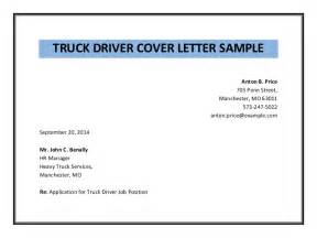 Reference Letter From Employer For Truck Driver Truck Driver Cover Letter Sle Pdf