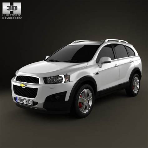 chevrolet captiva modified chevrolet captiva 2012 3d model for download in various