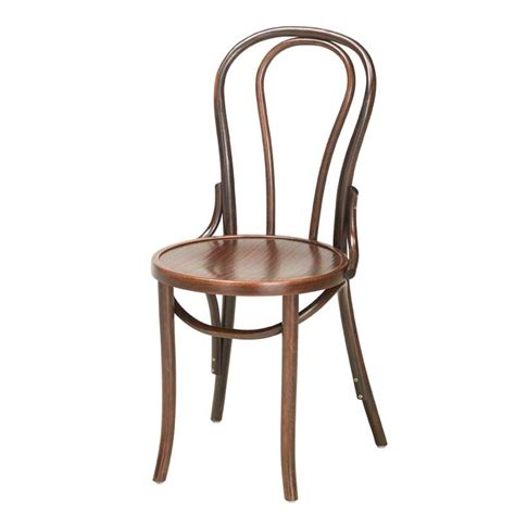 Bistro Furniture by Bistro Bentwood Side Chair Unupholstered Andy Thornton