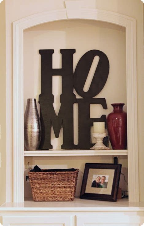Letters Home Decor by Home Decor Letters Marceladick