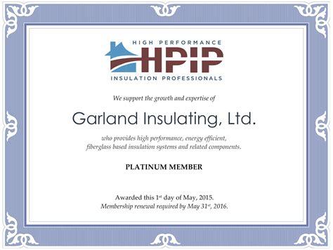 Insulation Certificate Template The Hakkinen Insulation Certificate Template