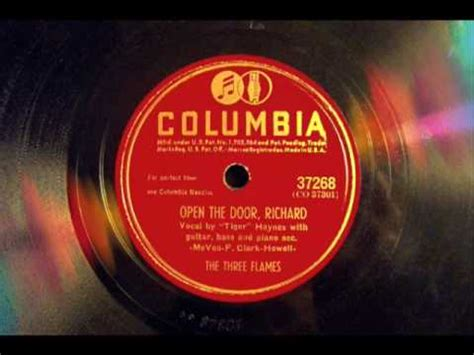 Open The Door Richard by Open The Door Richard 1 Hit Version The Three Flames