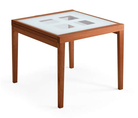 Poker 90 Dining Table by Domitalia   Domitalia Dining Room