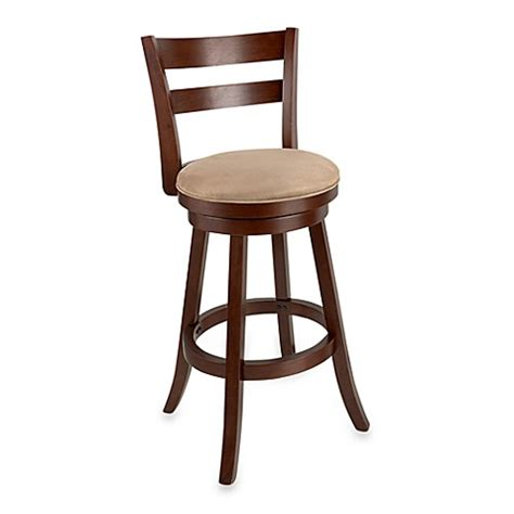 30 Inch Cherry Bar Stools by Sawyer 30 Inch Swivel Wood Bar Stool In Brown Cherry Bed