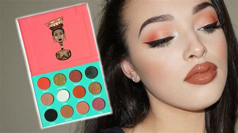Eyeshadow Juvia S Place new juvia s place saharan palette swatches and demo