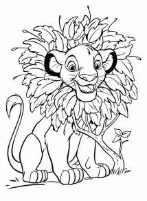 disney coloring pages for walt disney coloring pages simba walt disney