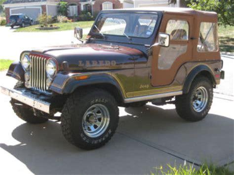 Jeep Laredo For Sale Jeep Cj 1980 Jeep Cj5 Laredo V8 69k Original Rust Free
