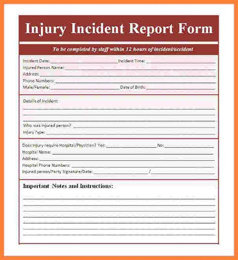Incident Report Exle Construction Report Template Filling In A Form Worksheet Preview En10fill L1 W Completing An
