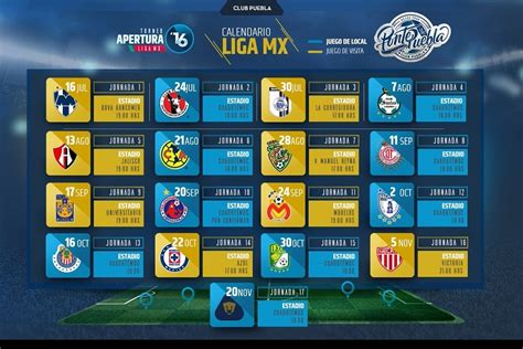 liga mx apertura calendario 2016 search results for calendario c 2016 liga mx calendar 2015
