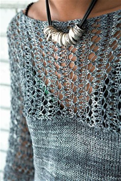 knitting in the sweater patterns free 25 best ideas about lace knitting patterns on