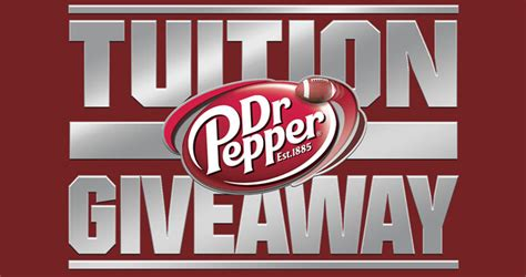 Dr Pepper Scholarship Giveaway - dr pepper tuition giveaway 2017