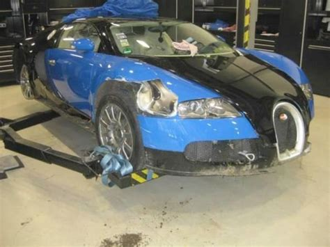 crashed bugatti veyron for sale totaled bugatti veyron is now up for sale localized