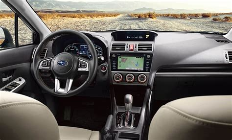 subaru crosstrek 2017 interior 2017 subaru crosstrek interior tech subaru interior features