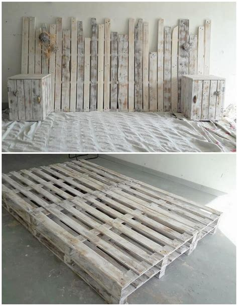 Shipping Pallet Bed Frame 40 Easiest Ways Of Recycling Used Shipping Pallets Pallet Wood Projects