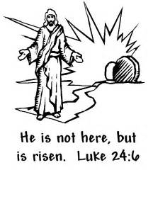 he is risen coloring page he is risen coloring page easter easter